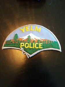 Yelm, Washington police patch