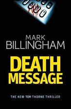Death Message (Tom Thorne Novels),Mark Billingham