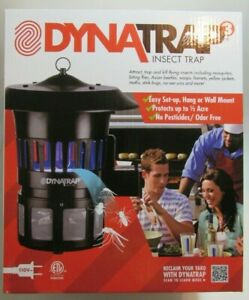 NEW! DYNATRAP 3 INSECT TRAP PRTOCT 1/2 ACRE/NO PESTICIDE/EASY TO USE 110V PLUG
