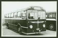Vintage Coach - Welsh Independent Operator - PWO 719 - Postcard Size Photograph