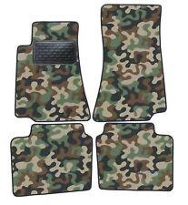 Armee-Tarnungs Autoteppich Autofußmatten Auto-Matten für Opel Omega B 1994-1999