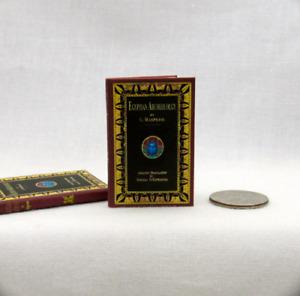 1:6 Scale EGYPTIAN ARCHEOLOGY Book Readable Book Miniature Egypt Pyramid Pharos
