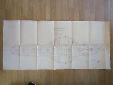 MAHART HUNGARY Österreich AUSTRIA GERMANY REGENSBURG MARINE SHIP PLAN 1921