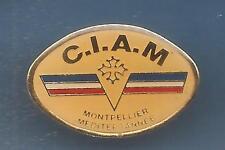 Pin's pin CENTRE D'INSTRUCTION AERONAUTIQUE DE MONTPELLIER CIAM  (ref 080)