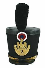 Tschako Offizier Frankreich Waterloo Austerlitz Infanterie Shako Napoleon  L123