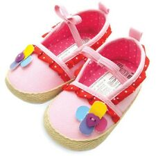 NEW Mothercare Embellished Ballerina Baby Girl Shoes 6-12m Size 4