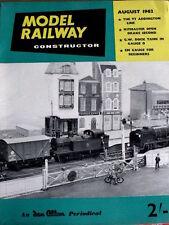 Model Railway Constructor - August 1962  [TR.8]