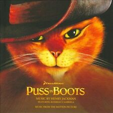 PUSS IN BOOTS Soundtrack CD BRAND NEW Henry Jackman
