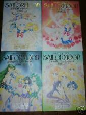 SAILOR MOON ART Book #1~4 Hard Cover Manga Japanese
