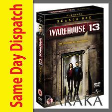 Warehouse 13 Season 1 DVD Box Set 4 Disc set R1 New and sealed