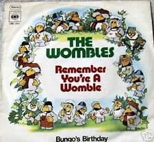 "7"" 70s GOLD! WOMBLES : Remember You´re A  Womble MINT-?"