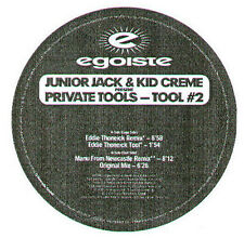JUNIOR JACK & KID CREME - Private Tools - Tool #2 - Egoiste - Swiss - EGO 34