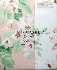 LAURA ASHLEY - Apple Blossom Printed Pink Bedset SUPER KING - NEW RRP £100