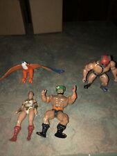 Vintage 1980s MOTU He-Man Lot Zodiac ZOAR Teela & Tri Klops