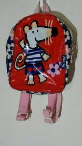 Maisy Mouse Children's Backpack  pvc floral