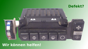 Reparatur, Überholung Klimasteuergerät, Bedienteil Mercedes W107 R107 W123 W126
