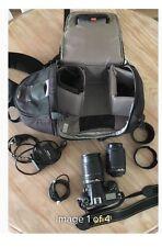 Nikon D7000 16.2 MP Digital SLR Camera - Black Kit w/ 55- 200mm Lens) 18 - 105mm