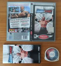 JUEGO PSP WW SMACKDOWN VS RAW 2007, THQ PLAYSTATION PORTABLE