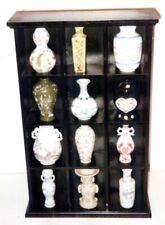 Imperial Dynasties Franklin Mint Mini Vases Complete Set of 12 w Wood Rack 1980