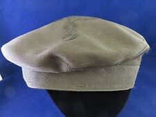 Marine Officers Hat Cover w Quatrefoil, Berkshire #215, Lee Uniform Cap Mfg.Co.
