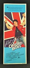 Original 1984 OXFORD BLUES Movie Poster 14 x 36 Dreamie ROB LOWE