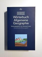 Wörterbuch Allgemeine Geographie, 13. Ausgabe - Top Zustand mit einem Makel