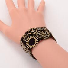 1pc Steampunk Gear Wrist Cuff Bracelet Retro Bangle Victorian Costume Props