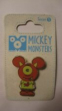 Disney Pin Limited Release Vinylmation Ogg Mickey Monsters Disney 2009    pin564