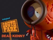 "2011 SDCC KIDROBOT DEAD KENNY SOUTH PARK 3"" FIGURE SEALED BOX BRAND NEW LE"