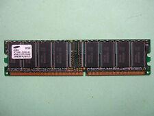 BARRETTE MEMOIRE RAM SAMSUNG PC2100U 256MB DDR