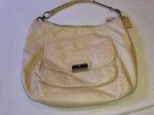 Coach Kristin Leather Large Hobo Style F22309. Champagne & Silver