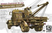 AFV Club 1/35 AF35279 WWII German KFZ.100 Bussing-NAG 4500A w/Bilstein 3T Crane