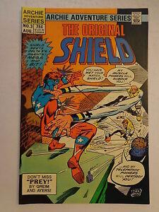 The Original Shield Greim Ayers #3 Archie Comics Adventure Series August 1984 NM