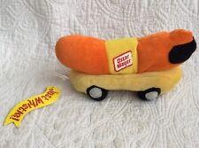 "Oscar Mayer Wienermobile 7"" Plush Bean Bag Kids Toy Just Whistle Kraft Foods"