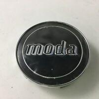 """Moda Chrome with Black Center Cap BR4-1-CAP 5754170F-1 2.75"""""""