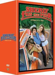 COFFRET 52 DVD L'INTEGRALE SHERIF FAIS-MOI PEUR SAISON 1 à 7 NEUF SOUS BLISTER