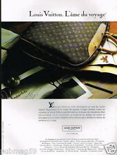 Publicité advertising 1991 Haute Maroquinerie cuir sac à main Louis Vuitton