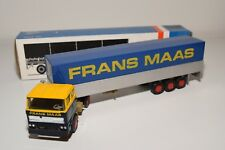 ± LION CAR DAF 2800 TRUCK WITH TRAILER FRANS MAAS NEAR MINT BOXED