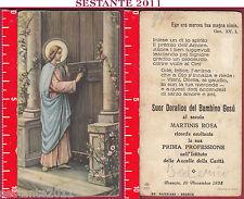 3091 SANTINO HOLY CARD GESù CRISTO BUON PASTORE BUSSA ALLA PORTA NB 422
