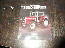 Original Massey Ferguson Mf 3545 Mf 3525 Mf 3505 Tractor Sales Brochure