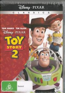 TOY STORY 2 - DISNEY PIXAR - NEW & SEALED REGION 4 DVD FREE LOCAL POST