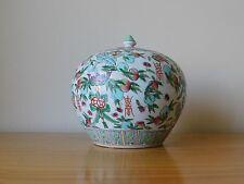 C.19th - CINESE ANTICO Famille Rose porcellana TONGZHI PORCELLANA Jar Pot