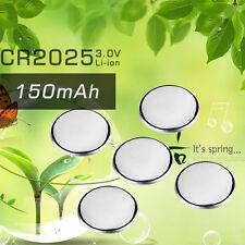 5x CR2025 CR 2025 DL2025 BR 2025 3 Volt Button Cell Battery 3V SCA-1682 AQ