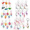 Flamingo Unicorn KeyChain Key Ring Bag Hanging Pendant Party Decor Supplies