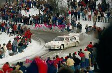 Philippe Wambergue Citroen BX4TC Monte Carlo Rally 1986 Photograph 1
