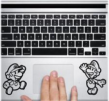 Mario Luigi for Apple Macbook Trackpad laptop Car Window Vinyl Decal Sticker