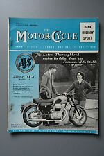 R&L Mag: Motor Cycle 7 Aug 1958 197cc Victoria/Touring with 250 Villiers Combo