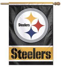 "PITTSBURGH STEELERS---28"" X 40""  VERTICAL FLAG"