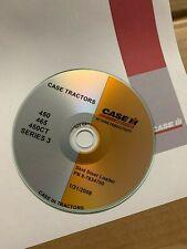 Case 450 465 450ct Series 3 Skid Steer Loader Service Repair Parts Manual Cd