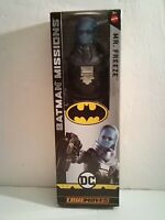 DC Batman Missions True Moves Mr. Freeze 12 in. Collectible Mattel Action Figure